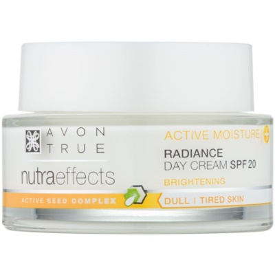 Avon True NutraEffects озаряващ дневен крем SPF 20