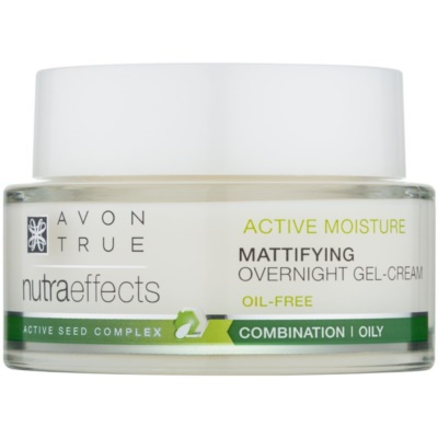 Matte Night Cream Non-Greasy Gel Formulation