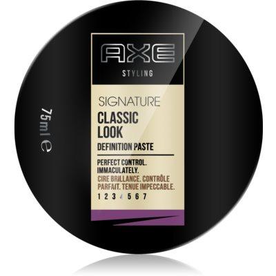 Axe Signature Classic Look cera para dar definición al peinado para cabello
