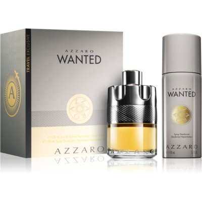Azzaro Wanted Gift Set I.  Eau De Toilette 100 ml + Deodorant Spray 150 ml