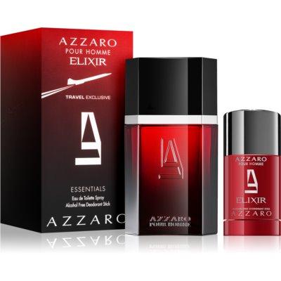 Azzaro Azzaro pour Homme Elixir σετ δώρου I. Eau de toilette 100 ml + αποσμητικό σε στικ 75 ml
