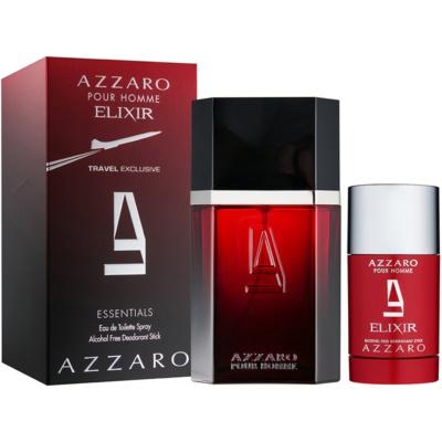 Azzaro Azzaro pour Homme Elixir lote de regalo I. eau de toilette 100 ml + deo barra 75 ml