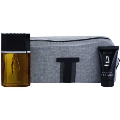 Azzaro Azzaro Pour Homme zestaw upominkowy XV. woda toaletowa 100 ml + żel pod prysznic 50 ml + torebka kosmetyczna