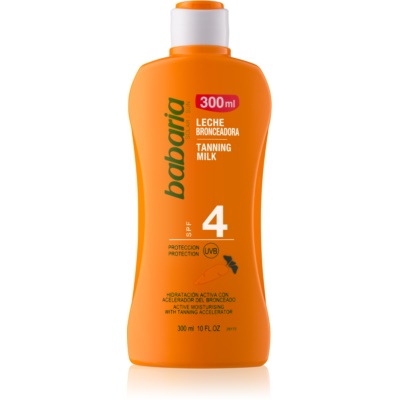 Babaria Sun Bronceadora Moisturizing Milk for Tan Enhancement