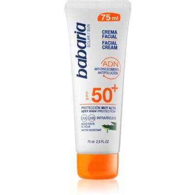Babaria Sun Face crème solaire visage SPF50+
