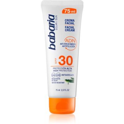 crema abbronzante viso SPF30