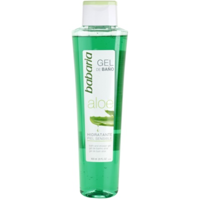 Shower Gel With Aloe Vera