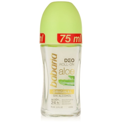 deodorante roll-on con aloe vera