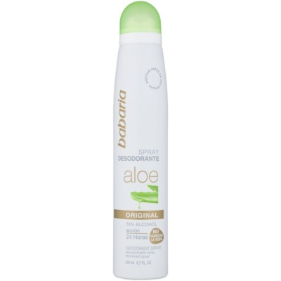 spray dezodor Aloe Vera tartalommal