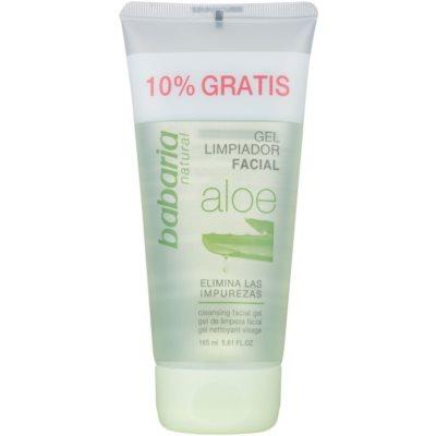 čisticí gel s aloe vera