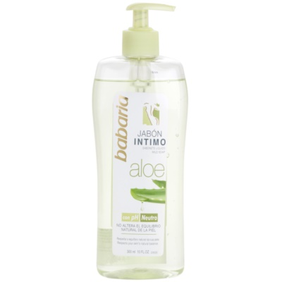 dámský sprchový gel pro intimní hygienu s aloe vera