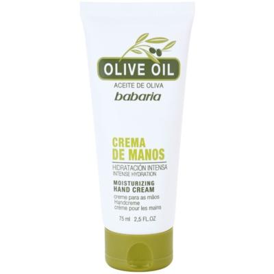 krém na ruce s olivovým olejem