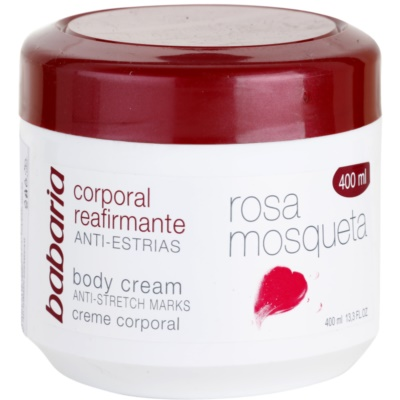 creme corporal refirmante with extracts of wild roses