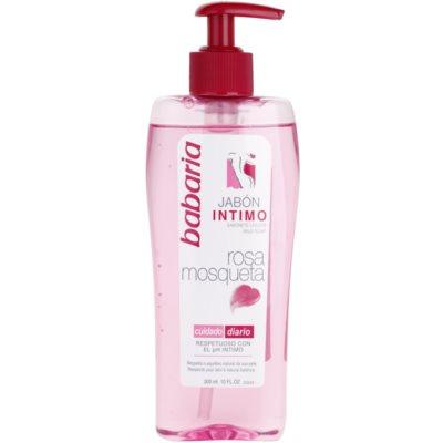 dámský sprchový gel pro intimní hygienu s výtažkem ze šípkové růže