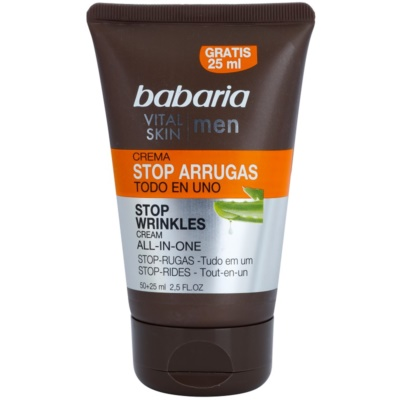 Babaria Vital Skin Moisturising Cream with Anti-Wrinkle Effect