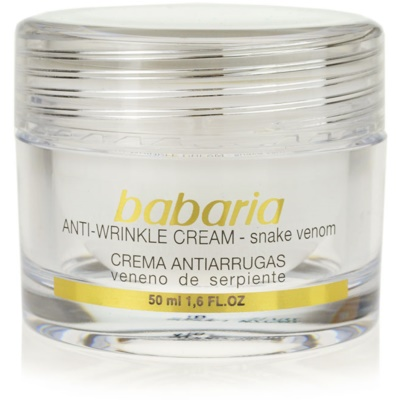 Day And Night Anti - Wrinkle Cream With Snake Poison