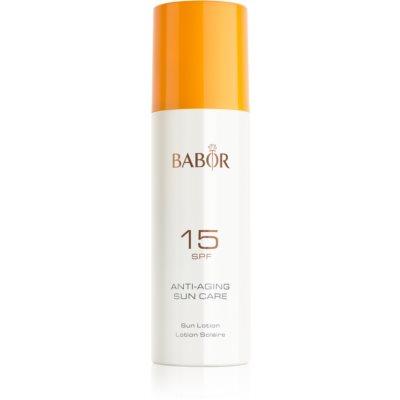 Sonnenmilch im Spray LSF 15