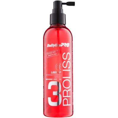 spray pentru netezirea parului