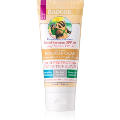 Badger Sun Sunscreen Cream SPF 30