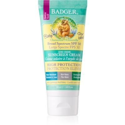 Badger Sun Protective Cream for Infants SPF 30