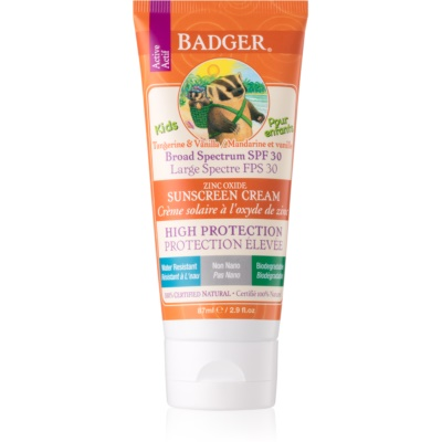 Badger Sun Kinder Bruiningscrème  SPF 30