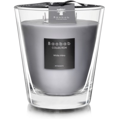 Baobab White Rhino Scented Candle