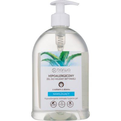 gél na intímnu hygienu s hydratačným účinkom