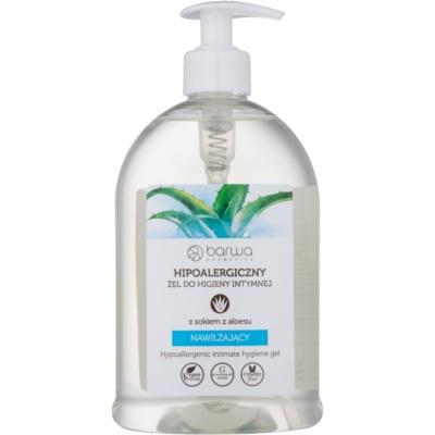 Gel für die intime Hygiene mit feuchtigkeitsspendender Wirkung