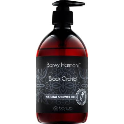 prírodný sprchový olej