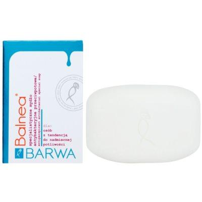 antibakteriální mýdlo proti nadměrnému pocení