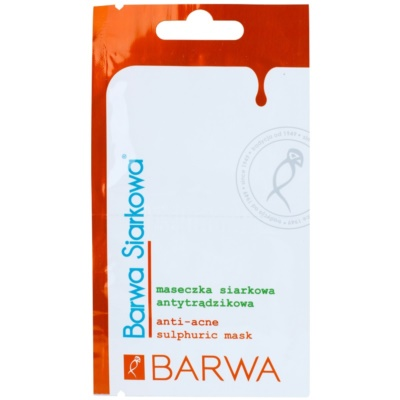 Barwa Sulphur Antibacterial Normalising Face Mask To Treat Acne