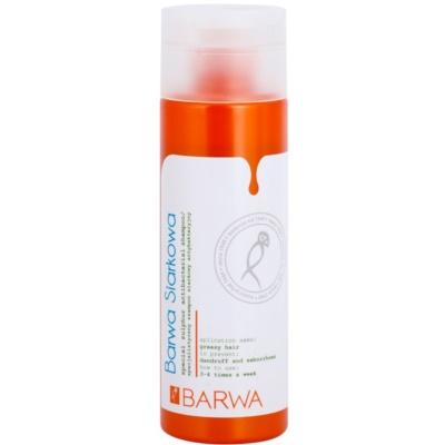 antibakteriální šampon pro mastné vlasy a vlasovou pokožku
