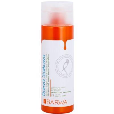 antibakterijski šampon za mastne lase in lasišče