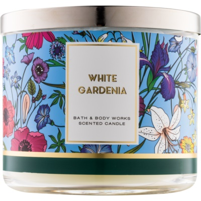 Bath & Body Works White Gardenia vela perfumada