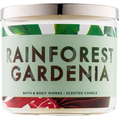 Bath & Body Works Rainforest Gardenia candela profumata