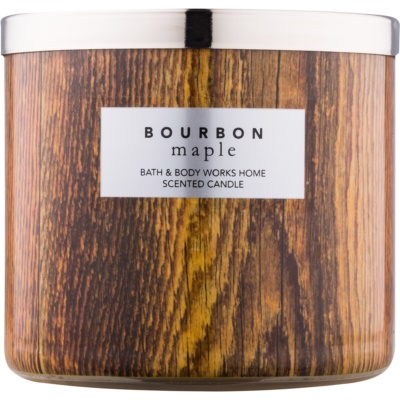 Bath & Body Works Bourbon Maple vonná sviečka