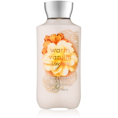 Bath & Body Works Warm Vanilla Sugar тоалетно мляко за тяло за жени 236 мл.