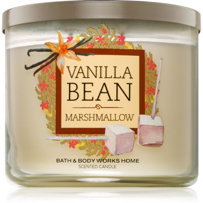 Bath & Body Works Vanilla Bean Marshmallow duftkerze