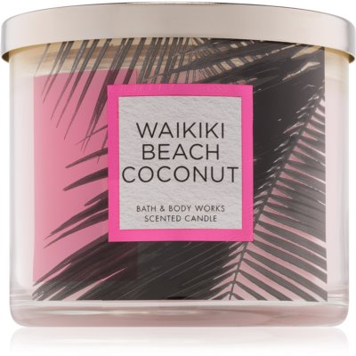 Bath & Body Works Waikiki Beach Coconut Scented Candle