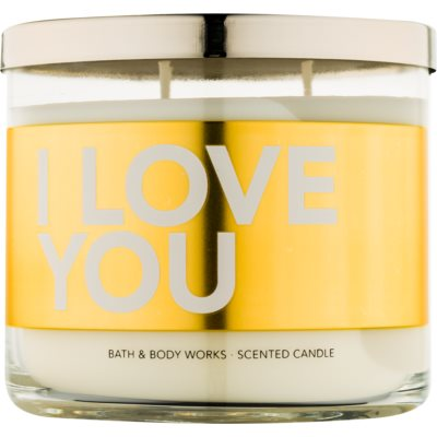 Bath & Body Works I Love You Duftkerze  411 g