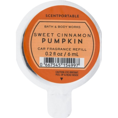 Bath & Body Works Sweet Cinnamon Pumpkin Car Air Freshener  Refill