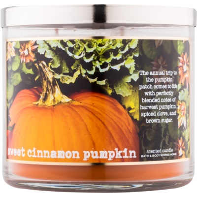 Bath & Body Works Sweet Cinnamon Pumpkin candela profumata