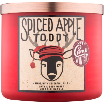 Bath & Body Works Camp Winter Spiced Apple Toddy vonná svíčka