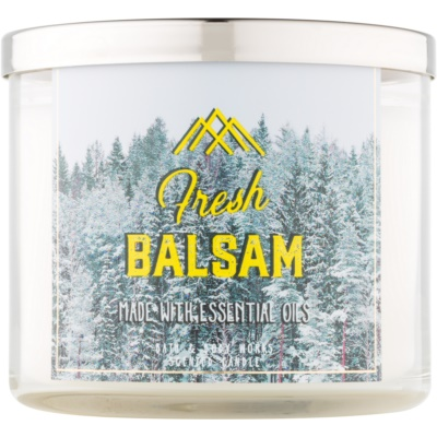 Bath & Body Works Camp Winter Fresh Balsam candela profumata