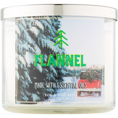 Bath & Body Works Camp Winter Flannel Scented Candle