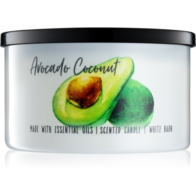 Bath & Body Works Avocado Coconut illatos gyertya