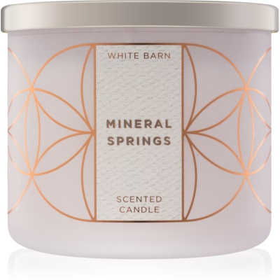 Bath & Body Works Mineral Springs candela profumata