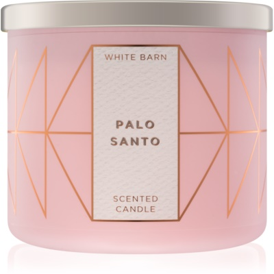 Bath & Body Works Palo Santo vela perfumado