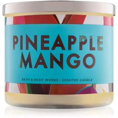 Bath & Body Works Pineapple Mango Scented Candle