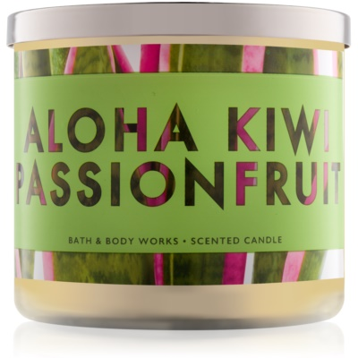 Bath & Body Works Aloha Kiwi Passionfruit Scented Candle